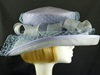 Country Casuals Wedding hat Lilac and Blue